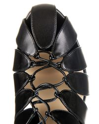 Francesco Russo | Black Cutaway Leather Ankle Boots | Lyst