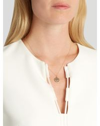 Alison Lou - Metallic Diamond & Yellow-gold Tongue Out Face Necklace - Lyst