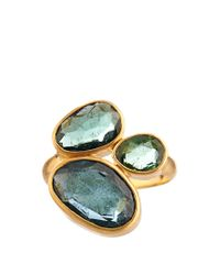 Pippa Small - Metallic Tourmaline & Yellow-gold Ring - Lyst