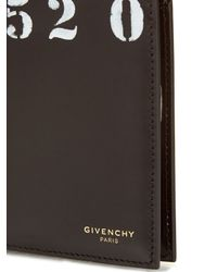 Givenchy - Black 1952-print Bi-fold Wallet for Men - Lyst
