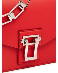 Proenza Schouler - Red Hava Leather Shoulder Bag - Lyst