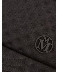 Maison Michel - Black Gareth Debossed Cap for Men - Lyst