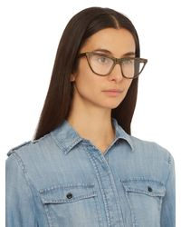 Prism - Multicolor Cairo Straight-top Cat-eye Glasses - Lyst