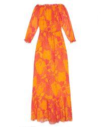 Diane von Furstenberg | Orange Camila Dress | Lyst