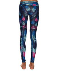 Mara Hoffman - Multicolor Voyager-print Performance Leggings - Lyst