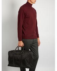 Dolce & Gabbana - Black Leather-trimmed Nylon Holdall for Men - Lyst