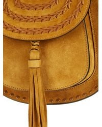 Chloé | Brown Hudson Mini Suede Shoulder Bag | Lyst