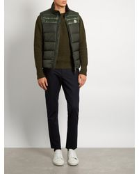 Moncler - Green Dupress Quilted Down Gilet for Men - Lyst