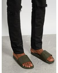 Givenchy - Natural Logo-print Sandals for Men - Lyst