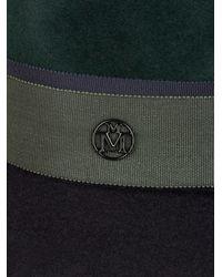 Maison Michel - Multicolor Henrietta Bi-colour Rabbit-fur Felt Hat - Lyst