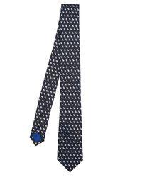 Paul Smith - Blue Rabbit-micro Silk Tie for Men - Lyst