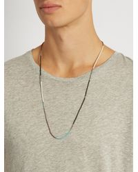 M. Cohen - Multicolor Coral, Jade, Antique-bead And Silver Bracelet for Men - Lyst