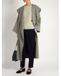 Nili Lotan - Gray Annelie Ribbed-knit Cashmere Sweater - Lyst