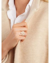 Anissa Kermiche - Multicolor Diamond, Mother-of-pearl & Pearl Ring - Lyst