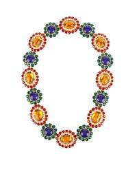 Miu Miu | Blue Flower Crystal-embellished Necklace | Lyst