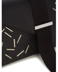 Christopher Kane - Black Devine Small Leather Cross-Body Bag - Lyst