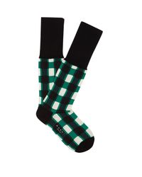 Marni - Multicolor Windowpane-checked Ankle Socks for Men - Lyst
