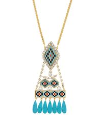 Shourouk | Blue Ramses Necklace | Lyst