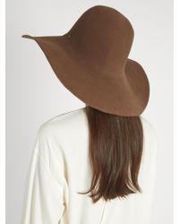 Maison Michel - Natural Trent Fur-felt Hat - Lyst