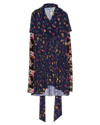 Vetements | Multicolor Multi Floral-print Long-sleeved Dress | Lyst