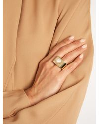 Givenchy - Multicolor Faux-pearl Ring - Lyst
