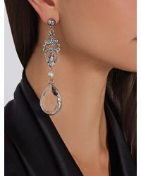 Givenchy - Metallic Crystal-embellished Earrings - Lyst
