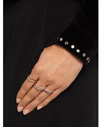 Spinelli Kilcollin - Gray Atlas Sapphire, Tanzanite, Silver & Gold Ring - Lyst