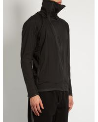 Y-3 - Black Airflow Hooded Performance Jacket for Men - Lyst