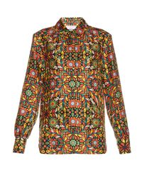 La Doublej Editions - Multicolor The Confetti-print Boy Shirt - Lyst