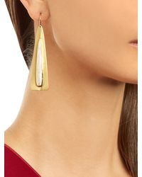 Irene Neuwirth - Metallic Rainbow Moonstone & Yellow-gold Earrings - Lyst