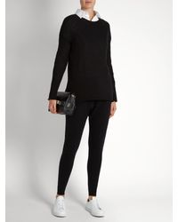 Denis Colomb - Black Sarouel Tapered-leg Cashmere Trousers - Lyst