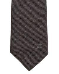 Fendi - Gray Bag Bugs Silk Tie for Men - Lyst