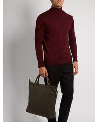 Want Les Essentiels De La Vie - Multicolor Hartsfield Leather-trimmed Canvas Weekend Bag for Men - Lyst