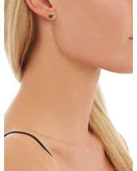 Noor Fares - Metallic Diamond, Sapphire, Ruby & Yellow-gold Earrings - Lyst