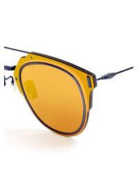 Dior Homme - Multicolor Composit 1.0 Pantos-style Sunglasses for Men - Lyst