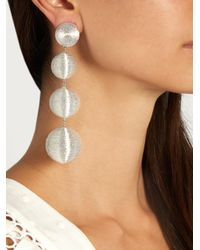 Rebecca de Ravenel - Metallic Les Bonbons Luna Earrings - Lyst