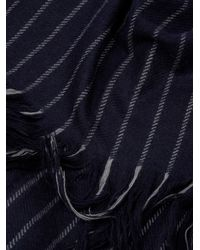 Isabel Marant - Blue Alva Wool And Cashmere-blend Scarf - Lyst