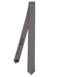Dolce & Gabbana - Multicolor Circle-print Silk Tie for Men - Lyst