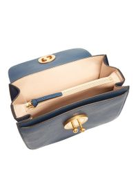 Chloé - Blue Mily Medium Leather Shoulder Bag - Lyst