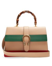 Gucci - Multicolor Dionysus Bamboo Large Leather Shoulder Bag  - Lyst