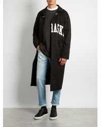 Off-White c/o Virgil Abloh - Multicolor Frayed Mid-rise Cropped Jeans for Men - Lyst
