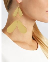 Ellery - Metallic Poet Gold-plated Earrings - Lyst