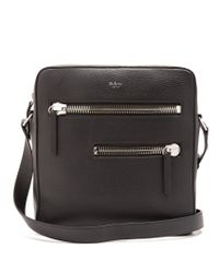 Mulberry | Black Kenrick Leather Messenger Bag for Men | Lyst
