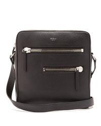 Mulberry   Black Kenrick Leather Messenger Bag for Men   Lyst
