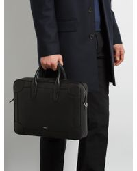 Mulberry - Black Belgrave Grained-leather Briefcase for Men - Lyst