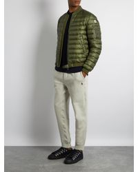 Moncler - Green Aidan Quilted Down Jacket for Men - Lyst
