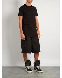 Rick Owens | Black Crew-neck T-shirt for Men | Lyst