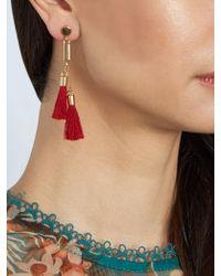 Chloé - Multicolor Lynn Tassel-drop Earrings - Lyst