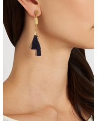 Chloé - Blue Lynn Tassel Earrings - Lyst