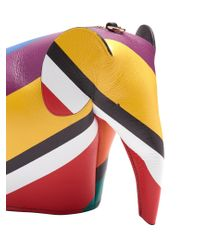 Loewe - Multicolor Elephant Leather Cross-body Bag - Lyst